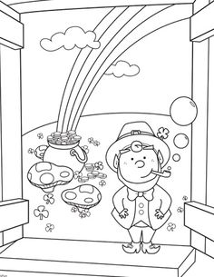 St. Patrick's coloring pages