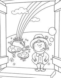 Little Leprechaun Coloring page