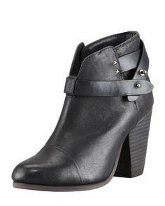 Harrow Leather Ankle Boot, Black by Rag & Bone at Bergdorf Goodman.