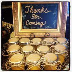 Mindy Laven Interiors: Fall Entertaining: Party favors for my Fall luncheon. Butternut squash soup!