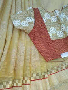 Patch Work Blouse Designs, Simple Blouse Designs, Stylish Blouse Design, Cotton Saree Blouse Designs, Designer Blouse Patterns, Blouse Models, Boat Neck, Embroidery Designs, Clothing