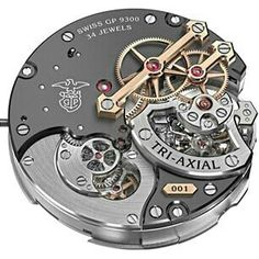 Girard -Perregaux Tri-Axial movement
