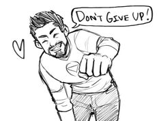 dchanberry: Here's a motivational fist bump from Tony for you! <3