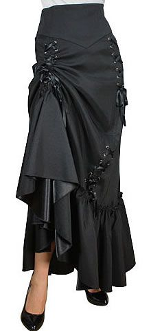 Lost in the Labyrinth Skirt - Black