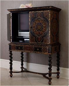 Hide Flat Screen TV Furniture, How to hide a flat screen tv