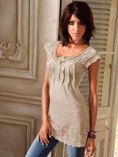 Longshirt Tunic Tops, Fashion Outfits, Clothes For Women, My Style, Pretty, Ing, Beautiful, Happy, Modern