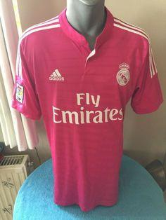 REAL MADRID CF Football Shirt Camiseta Trikot 2014 15 Away Soccer Jersey  Maillot  adidas 98131970f