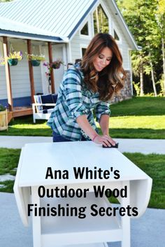 Hi folks! Spring is finally here in Alaska and I'm dreaming about outdoor furnishings! We've got our nose to the grindstone getting our house done, so no playtime in the woodshop for me for at least a