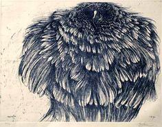 Day Owl - Leonard Baskin
