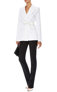 Quarry Stretch-Cotton Jacquard Blazer by Ellery Now Available on Moda Operandi