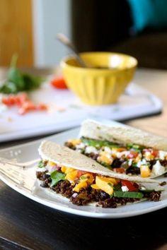 How To Make Taco Recipe : Black Bean and Quinoa Soft Taco