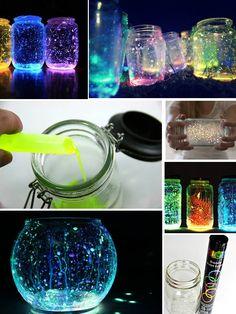 glowstick jar