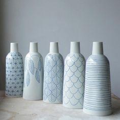 kitchen decoration – Home Decorating Ideas Kitchen and room Designs Porcelain Jewelry, Porcelain Ceramics, Ceramic Vase, Ceramic Pottery, White Ceramics, China Porcelain, Porcelain Tiles, Bottle Vase, Bottle Painting