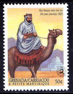 Gr Ca & PM MNH, Ibn Batuta, Islamic scholar of Morocco, Berber Moroccan explorer
