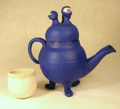 hahahaha monster teapot