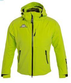 Kappa Men 6Cento 650 Jacket – Green Lime