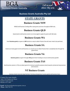 Small Business Grants, are available now for Australian business ...