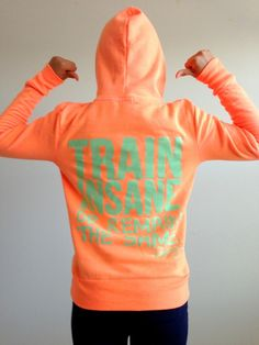 Train Insane or Remain the Same Fitted Hoodie.. now to start a full exercise plan and id be all set lol