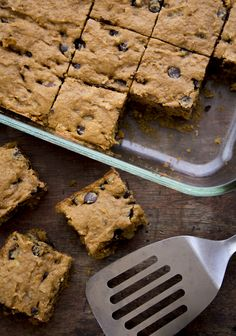 sweet potato blondies [Healthy Seasonal Recipes]
