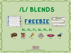 FREEBIE ALERT! Grab our Mixed /L/ blends words worksheet and game board!