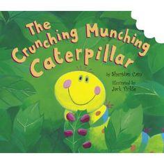 The Crunching Munching Caterpillar! Super cute book!