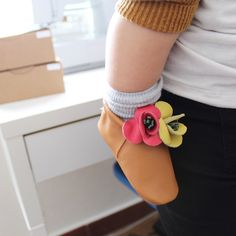 Bucolic Moccs for Baby girl |  | Baby moccs, leather moccasins, baby shoes, little fashion shoes