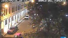 Terremoto Ecuador 7.8 en vivo Portoviejo cámaras ECU 911 .Sábado 16 de abril del 2016 - YouTube