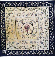 Quilt 1812: War & Piecing: 2 Zebiah Smallwood Hewson: Domestic Manufacture