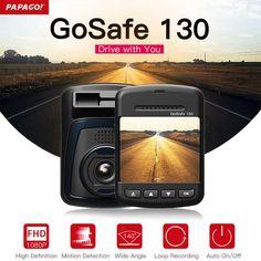 #BestPrice #Fashion PAPAGO Gosafe 130 Car DVR Camera Novatek 96650 1080P 2.0 Screen 140 Degree Angle Dash Camera Video Recorder Cam DVRs…
