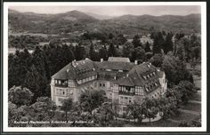 Alte Ansichtskarte: AK Obersasbach, Kurhaus Marienheim Erlenbad