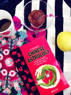 The book, a cup of coffee and the muffin. what a great combination! Astrology Books, Answer To Life, Chinese Astrology, My Destiny, Bettering Myself, Feng Shui, Earthy, The Book, Bridge