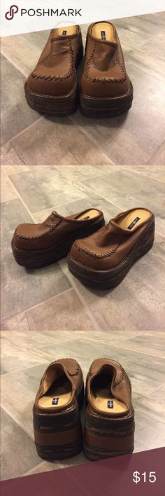 Brown Platform Shoes Brand new in box. Shoes Platforms
