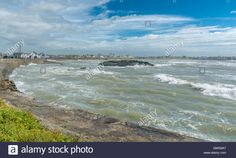 Download this stock image: Stormy weather at Trearddur Bay - GMG9A7 from Alamy's…