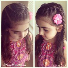 Hairstyle for girls/ peinados para niñas