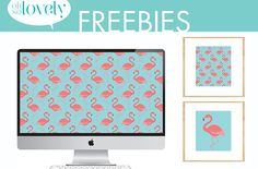 Happy Monday, peeps! If you've ever read my blog, you might have noticed that I love me some flamingos….I also love aqua and coral. I can't quit them. I'm sorry.  So…since it's been a little while since I made my last group of free flamingo freebies, I decided it was time to create some …