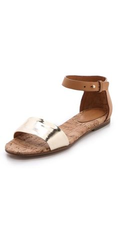 See by Chloe Cork Footbed Sandals | SHOPBOP. Must have!