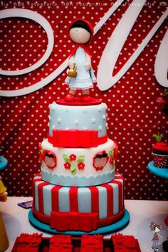 bolo Chapeuzinho vermelho