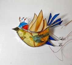Birds and Flowers - It must be spring! di Rhoda T su Etsy