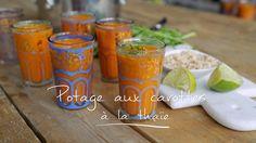 Potage aux carottes à la thaïe - Cuisine futée parents pressés