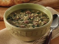 Nostalgia Wedding Soup ~ Just a Pinch