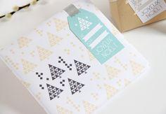 Papier et étiquettes cadeaux DIY !