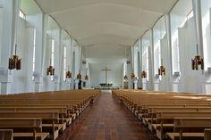 Seinäjoki - Cross of the Plains church, Finland, architect Alvar Aalto
