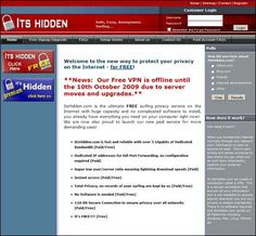 Where to find free VPN for Windows XP, Vista, 7, Mac OS X, Linux, iPhone, Linux, and Ubuntu? Have you heard of ItsHidden? ItsHidden.com is a FREE surfing privacy service on the Internet and there is no complicated software to install. The service is free; however, prioroty will be given to paid user. Only $9.99 […]