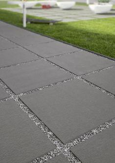 - concrete look Cotto look - 20 mm tiles- – Betonoptik Cottooptik – 20 mm Fliesen – concrete look Cotto look – 20 mm tiles - Concrete Patios, Concrete Patio Designs, Backyard Patio Designs, Yard Design, Outdoor Tile Over Concrete, Diy Design, Garden Tiles, Patio Tiles, Garden Floor