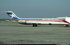 Texas International Airlines, DC 9 32