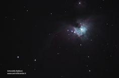 m42 a fuoco diretto + riduttore di focale con canon eos 1200D e telescopio Celestro CPC 400 - 29 febbraio 2015