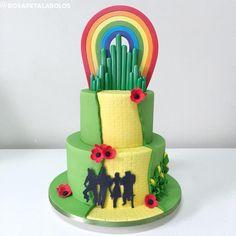 Wizard of Oz cake / rosapetalabolos