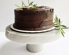 Concrete Cake Stand | Cement Cake Stand | Wedding Cake Stand | First Birthday Cake Stand | Cake Stand