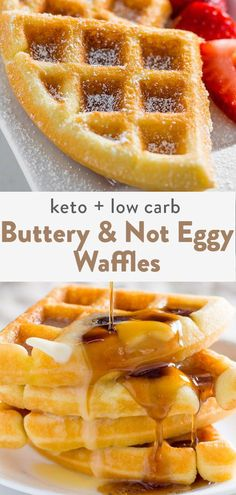 A keto waffle recipe like you have never seen before! Crispy, fluffy, not egg tasting and made in under 15 minutes. The best keto waffles for the internet! Low Carb Waffles, Low Carb Bread, Low Carb Keto, Keto Bread, Low Carb Food, Healthy Low Carb Recipes, Keto Recipes, Dinner Recipes, Healthy Recipes