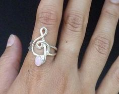 Items similar to Sterling Silver Music Note Ring Unisex Jewelry Style 5 on Etsy